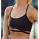 preiswerte Kindertanzkleidung-Damen Sexy BH Drahtlos / Sport BHs / Polsterloser BH 8 / 5 Körbchen - Solide