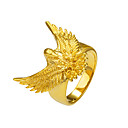 cheap Toy Trains & Train Sets-Men's Statement Ring Ring - Copper, Gold Plated Eagle, Animal Basic, Punk, Rock 8 / 9 / 10 / 11 / 12 Gold For Christmas Gifts Special Occasion Halloween