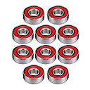 cheap Tool Sets-608R 21mm x 7mm Metal Shielded Radial Ball Bearings Deep Groove Ball Bearings for Fidget Spinner Toy---10 pcs