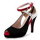 ieftine Jucării Electronice Educaționale-Pentru femei Pantofi Microfibre Catifea Primăvară Vară Pantofi Club Tocuri Toc Stilat Pantofi vârf deschis Combinată pentru Nuntă Party &
