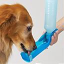 お買い得  犬用餌/水入れ/フィーダー-L ネコ 犬 餌入れ/水入れ ペット用 ボウル&摂食 防水 携帯用 レッド ブルー ピンク
