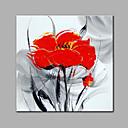 levne Fidget spinners-Hang-malované olejomalba Ručně malované - Květinový / Botanický motiv Moderní Plátno / Reprodukce plátna