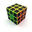 cheap Toy Instruments-Rubik's Cube Carbon Fiber 3*3*3 Smooth Speed Cube Magic Cube Puzzle Cube Matte Sticker Competition Gift Unisex