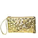 cheap Clutches & Evening Bags-Women's Bags PU(Polyurethane) Coin Purse Stone Silver / Purple / Light Gold