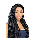 cheap Hair Braids-Braiding Hair Curly Dreadlocks / Faux Locs Synthetic Hair 1pc / pack, 24 roots / pack Hair Braids Dreadlock Extensions / Dreads Locs / Crochet Faux Dreads