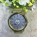 baratos Jogos de xadrez-Homens Relógio de Pulso Quartzo Dourada 30 m Relógio Casual Analógico Casual Fashion Elegante - Azul Laranja / preto Dourado / Vermelho