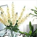 baratos Flor artificiali-Flores artificiais 1 Ramo Estilo Europeu Violeta Flor de Mesa
