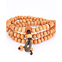cheap Bracelets-Men's Strand Bracelet / Wrap Bracelet - Natural, Fashion Bracelet Yellow For Special Occasion / Gift / Sports