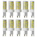 cheap LED Spot Lights-YWXLight® Dimmable 10W G9 LED Bi-pin Lights 86 SMD 2835 850-950lm Warm White Cold White Natural White 2800/4000/6000K 220V