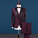 ieftine Bijuterii Bărbați-Bărbați Rever Clasic Zvelt Mărime Plus Size Costume Mată, Peteci