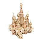 cheap Models & Model Kits-3D Puzzle Jigsaw Puzzle Wood Model Model Building Kit Castle Famous buildings House DIY Wood Classic Unisex Gift