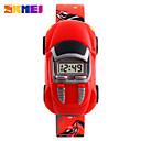 Χαμηλού Κόστους Μοντέρνα Ρολόγια-SKMEI Ψηφιακό ρολόι Ψηφιακή Plastic Μπάντα Ψηφιακό Μαύρο / Μπλε / Κόκκινο - Μπλε Απαλό Κίτρινο Κόκκινο