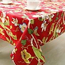 cheap Table Cloths-Cotton Blend Table cloths Printing Fashion Table Decorations 1 pcs