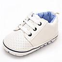 baratos Sapatos de Bebês-Para Meninos Sapatos Courino Primavera Conforto Rasos Elástico para Branco