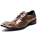 olcso Férfi félcipők-Uniszex Formális cipők Nappa Leather Ősz / Tél Félcipők Arany / Party és Estélyi