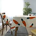 hesapli Masa / Sehpa Örtüleri-Pamuk Karışımı Masa Örtüleri Resim Moda Masa Süslemeleri 1 pcs