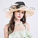 cheap Party Headpieces-Silk / Organza Hats with 1 Wedding / Special Occasion / Party / Evening Headpiece