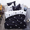 cheap Cartoon Duvet Covers-Duvet Cover Sets Animal 4 Piece Poly/Cotton Reactive Print Poly/Cotton (If Twin size, only 1 Sham or Pillowcase)