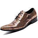 cheap Men's Oxfords-Unisex Formal Shoes Nappa Leather Fall / Winter Oxfords Gold / Party & Evening / Dress Shoes