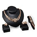 cheap USB Cables-Women's Jewelry Set - Rhinestone, Gold Plated Personalized, Luxury, Vintage Include Gold For Party / Special Occasion / Housewarming