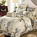 cheap Window Film & Stickers-Floral/Botanical 4 Piece Cotton Cotton 1pc Duvet Cover 2pcs Shams 1pc Flat Sheet