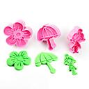 baratos Artigos de Forno-Ferramentas bakeware Plásticos Crianças / Faça Você Mesmo Bolo Ferramentas de Cookie
