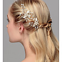 cheap Party Headpieces-Crystal / Imitation Pearl Hair Pin with 1 Wedding / Special Occasion / Anniversary Headpiece