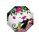 cheap Umbrella/Sun Umbrella-Plastic Men's / Women's / Boys' Sunny and Rainy Folding Umbrella