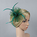 cheap Party Headpieces-Plastic Fascinators / Flowers with 1 Wedding / Special Occasion / Party / Evening Headpiece