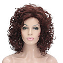 cheap Synthetic Wigs-Synthetic Wig Curly Synthetic Hair Blonde Wig Women's Short Capless