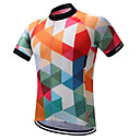 cheap Cycling Jerseys-SUREA Men's Cycling Jersey Bike Jersey, Quick Dry, Sweat-wicking, Reflective Strips Polyester, Coolmax®, Lycra