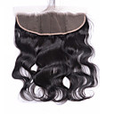 cheap Wedding Shoes-Brazilian Hair 4x13 Closure Body Wave Swiss Lace Virgin Human Hair Women's Daily