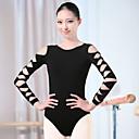 tanie Stroje baletowe-Balet Body Damskie Szkolenie Spandeks Długi rękaw Wysoki