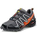 cheap Men's Athletic Shoes-Men's Faux Leather Fall / Winter Comfort Athletic Shoes Hiking Shoes Black / Gray / Blue