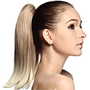 cheap Synthetic Lace Wigs-Ponytails Hair Piece Hair Extension Straight