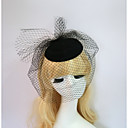 cheap Party Headpieces-Resin / Cotton Fascinators / Hats with 1 Wedding / Special Occasion / Halloween Headpiece
