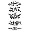 abordables Tatuajes Temporales-Modelo / Parte Lumbar / Waterproof manos / brazo / muñeca Los tatuajes temporales 1 pcs Series de Animal Artes de cuerpo