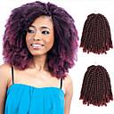 olcso Hajfonat-Hajfonás Göndör Göndör fonás / Emberi haj tincsek 3pack Hair Zsinór 100% kanekalon haj Napi