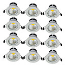 cheap Earrings-JIAWEN 5 W 1 LED Beads Decorative LED Downlights Warm White Cold White 85-265 V