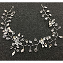 cheap Necklaces-Crystal Tiaras / Headbands / Head Chain with 1 Wedding / Special Occasion / Housewarming Headpiece