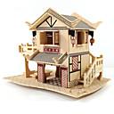 olcso Fából készült építőjátékok-3D építőjátékok / Modeli i makete / Wood Model Népszerű épület / Ház DIY Fa Klasszikus Uniszex Ajándék