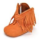 baratos Acessórios para PS4-Para Meninas Sapatos Courino Outono Conforto / Botas de Montaria / Coturnos Botas Mocassim para Vermelho / Rosa claro / Azul Real