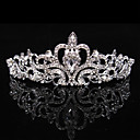 cheap Party Headpieces-Rhinestone / Alloy Tiaras / Headwear with Floral 1pc Wedding / Special Occasion / Party / Evening Headpiece