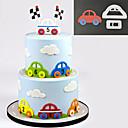cheap Bakeware-Sugarcraft Car Set plastic fondant cutter cake mold fondant mold fondant cake decorating tools sugarcraft bakeware