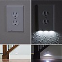 cheap Night Lights-1pc Wall Plug Nightlight Light Control White