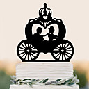 cheap Cake Toppers-Cake Topper High Quality Plastic Wedding Birthday with 1 PVC Bag