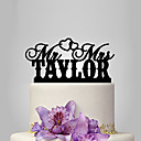 cheap Wall Stickers-Cake Topper Classic Theme / Wedding Plastic Wedding / Anniversary with 1 pcs Poly Bag