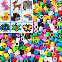 tanie Wakacje-ok 500szt / 5mm mieszane kolorowe torby koraliki koraliki bezpiecznik Hama materiału podłubać układanki eva safty dla dzieci (losowy kolor)