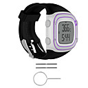 cheap Cell Phone Cases & Screen Protectors-Watch Band for Forerunner 10 Garmin Sport Band Rubber Wrist Strap