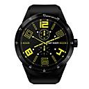 baratos Smartwatches-Relógio inteligente YYK98H para Android 3G Bluetooth satélite Esportivo Impermeável Monitor de Batimento Cardíaco Tela de toque Pulso Rastreador Cronómetro Podômetro Monitor de Atividade